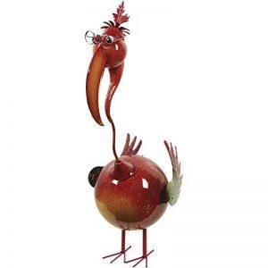 H.G. Oiseau Déco en métal laqué, 38x 29,5x 83,5cm, multicolore de la marque H.G. image 0 produit
