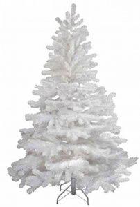 Haac Sapin de Noël artificiel en blanc 150cm sapin pliable avec pied métallique de la marque HAAC image 0 produit