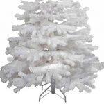 Haac Sapin de Noël artificiel en blanc 150cm sapin pliable avec pied métallique de la marque HAAC image 2 produit