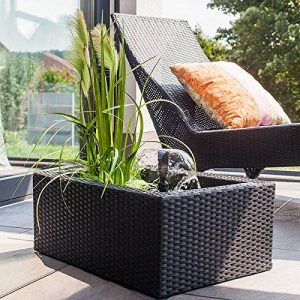 Heissner Kit pour étang de terrasse en rotin de la marque Heissner image 0 produit