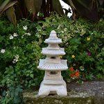 Hivernage Pagode japonaise lanterne de pierre en pierre fonte de la marque gartendekoparadies.de image 2 produit