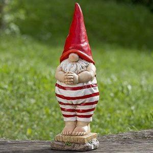 Home Collection Décoration, mobilier, statues de jardin - Sculpture de nano, gnome en maillot de bain - couleur: blanc/rouge - env 46 cm de la marque Home Collection image 0 produit