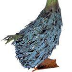 Homescapes Décoration de jardin Oie en métal Bleu H 41 cm de la marque Homescapes image 4 produit