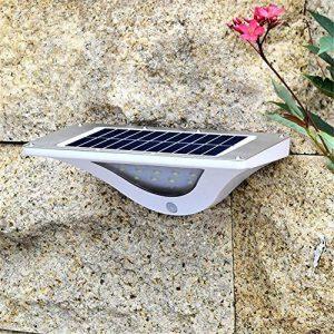 HomJo Lampe Solaire Jardin Lampe solaire Lampe à induction Wall Street light escalier en pierre applique murale maison village extérieur Lampe imperméable à cour , 2 de la marque HomJo image 0 produit
