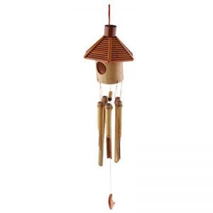 Homyl Carillon à Vent en Bambou Décoration Extérieur de la marque Homyl image 0 produit