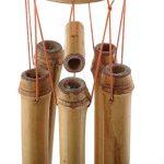 Homyl Carillon à Vent en Bambou Décoration Extérieur de la marque Homyl image 1 produit
