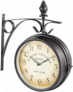 Horloge de gare rétro double face de la marque St. Leonhard image 0 produit