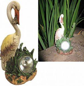 Héron LED solaire jardin lumière–Idéal pour étang et jardin ornement/Statue de la marque Gardenwize image 0 produit