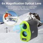 Huepar Golf Télémètre laser Lr1000p 6x 25mm Optics Ranger Finder avec Pinsensor, mesurant jusqu'à 1000,4m, gratuit de la batterie (Vert clair/noir) de la marque Huepar image 1 produit