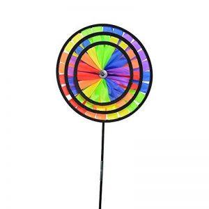 ICARE Triple Rainbow Girouette, Multicolore, 32 x 25 x 85 cm de la marque ICARE image 0 produit