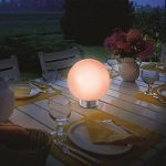 IDMarket - LAMPE BOULE SOLAIRE COLOR 30 CM de la marque IDMarket image 3 produit