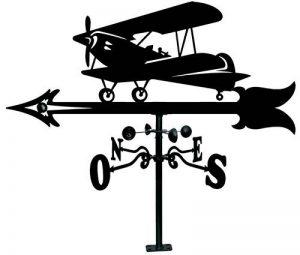IMEX EL ZORRO 11078–Girouette pour toit avec petit avion, 900mm de la marque IMEX EL ZORRO image 0 produit