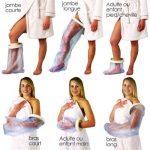 imperméable à l'eau de bain / douche fonte protecteur - tous types pour convenir à diverses zones du corps (bras de l'enfant à long) de la marque Able 2 image 1 produit