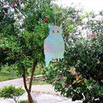 iNeibo 2pcs Hibou Épouvantail réfléchissant Anti Oiseaux et Nuisible (Bleu) de la marque iNeibo image 4 produit