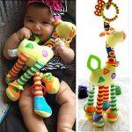 Infantile bébé développement girouettes molles animaux hochets hochets poignée jouets de la marque Dailyinshop image 1 produit