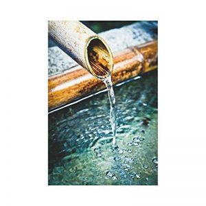 Interestprint Bambou Fontaine Polyester Garden Drapeau Maison Banner 30,5x 45,7cm, japonais traditionnel décoratifs Drapeau pour fête Yard Home Décor extérieur de la marque InterestPrint image 0 produit