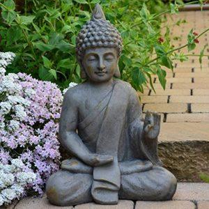 INtrenDU Bouddha Statuette Chinois 54cm décoration zen pour intérieur extérieur jardin zen, feng shui de la marque INtrenDU image 0 produit