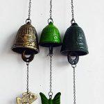 intérieur / extérieur décor bronze carillons éoliens cloches de vent, style M de la marque Blancho image 1 produit