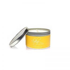 Isle of Skye Candle Company Bougie parfumée à la citronnelle en boîte - Blanc de la marque Isle of Skye Candle Company image 0 produit