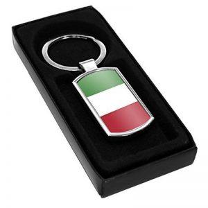 Italie Drapeau Porte-clés en métal 102 de la marque Duke Gifts image 0 produit