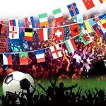 Itian 100 Drapeaux de pays, Drapeaux internationaux Bannière de décoration pour fêtes, Jeux olympiques, Grand ouverture, Bar, Clubs sportifs, etc. de la marque Itian image 2 produit