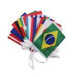 iZoeL 32 Monde des Drapeaux Coupe du monde 2018 Multi Nation Décoration de fête Bannière de la marque iZoeL image 1 produit