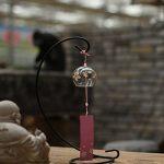Japonais Carillon vent cloches en verre fait main cadeau d'anniversaire cadeau de Noël Maison un cerisier japonais Carillon (Fleur Rose) de la marque EliteShine image 3 produit
