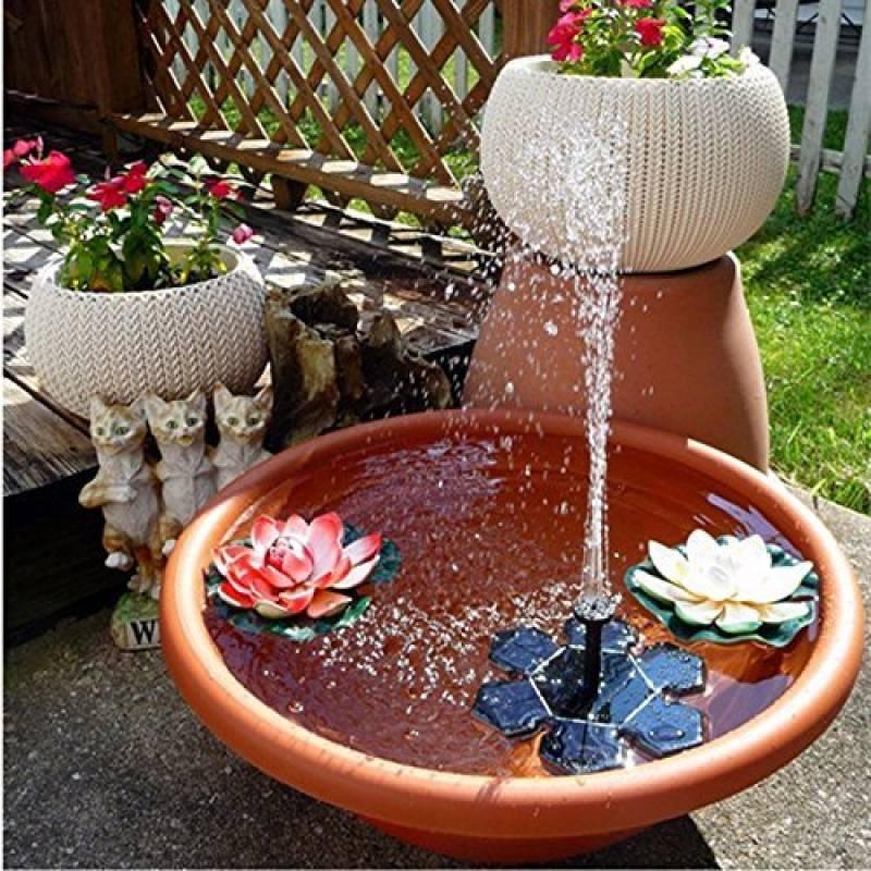 Fontaine Solaire Jardin Japonais