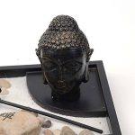 Jardin Zen Antiquités Sculpture de Bouddha thaï Porte-bougie W/Brûle-encens kit de la marque Zamonji image 3 produit