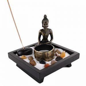 JARDIN ZEN JAPONAIS - Bouddha Méditation - Bougie et Encens - Déco Zen de la marque Lachineuse image 0 produit