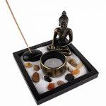 JARDIN ZEN JAPONAIS - Bouddha Méditation - Bougie et Encens - Déco Zen de la marque Lachineuse image 2 produit