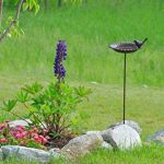 Jardinion Abreuvoir de jardin pour oiseaux, fonte aspect rouille, Station d'alimentation Marron fonce STK de la marque Jardinion image 2 produit