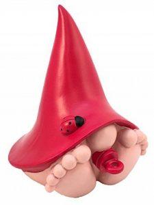 """""""Jasper"""" Bébé Nain géant Miniature - le Bébé Nain avec le Chapeau Rouge pour Jardin Féerique et de Nains - Baby Gnome (15,2 cm de hauteur) de la marque GlitZGlam image 0 produit"""