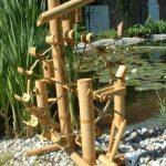 Jeu d'eau bambou, fontaine, cascade, importé de Thaïlande (12033) de la marque Wilai image 2 produit