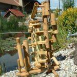 Jeu d'eau bambou, fontaine, cascade, importé de Thaïlande (12033) de la marque Wilai image 3 produit