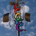 Jeux de vents - Twister M - résiste aux UV et aux intempéries - Ø15cm, Longueur : 120cm - incl. émerillon à roulement à billes de la marque IMC Networks image 1 produit