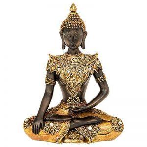 Joe Davies Doré Bouddha assis Medium–23x 17cm de la marque Joe Davies image 0 produit
