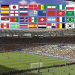 Joykey 10 M International Fanion Bunting 32 Pays Drapeaux Fanion banderole pour Sport Jeux, Club, Étude de Culture, Décoration de Fête de la marque Joykey image 3 produit