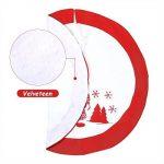 Jupe Arbre de Noël en Velours Vacances Arbre Ornements Tapis de décoration pour Noël Christmas,91.4 cm de la marque Suparee image 2 produit