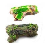 kangql Aquarium Tortue pour animal domestique Simulation en bois flotté Résine Décoration d'aquarium–1# de la marque kangql image 1 produit