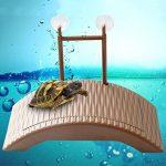 kangql étanche durable Auto-lifting flottant Tortue Pier pont Grenouille Crabe jouet pour animaux–Café de la marque kangql image 2 produit
