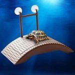 kangql étanche durable Auto-lifting flottant Tortue Pier pont Grenouille Crabe jouet pour animaux–Café de la marque kangql image 3 produit