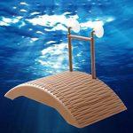 kangql étanche durable Auto-lifting flottant Tortue Pier pont Grenouille Crabe jouet pour animaux–Café de la marque kangql image 4 produit