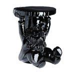 Kartell 883109 Tabouret nain de jardin Gnome Attila (Noir) de la marque Kartell image 1 produit