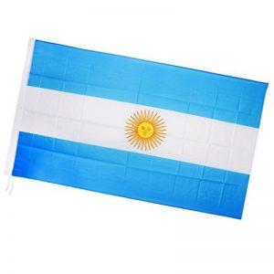 Kesoto 1,5x 0,9m Argentine Drapeau national de grande Bannière pour décoration de festival International de la marque KESOTO image 0 produit