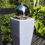 Köhko Eau Jeu de lumière 30cm Fontaine 51006M avec bac en blanc lait avec changement de couleur par télécommande infrarouge 24touches de la marque Köhko image 3 produit
