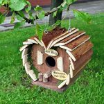 Kingfisher Hôtel à oiseaux en bois de la marque Kingfisher image 1 produit