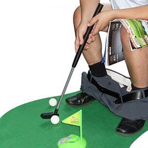 Kit de golf toilette WC - cadeau golf de la marque Goods & Gadgets image 0 produit