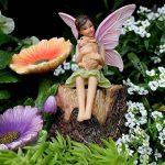 Kit de jardin féérique de Pretmanns avec figurines et accessoires miniatures colorés, 7 pièces de la marque Pretmanns image 2 produit