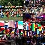 Kobwa Plus Grand fanions pour FIFA Coupe du monde de 2018, 20cm * 28cm Corde Drapeau 32équipes drapeaux nationaux pour sports Club, bar, grand Ouverture Guirlande fanions–10metre de la marque Kobwa image 3 produit